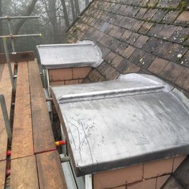 New lead roofs